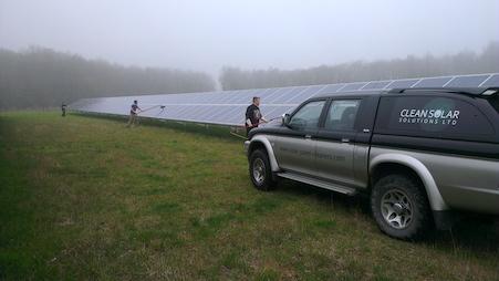 Nettoyeurs de panneaux solaires professionnels