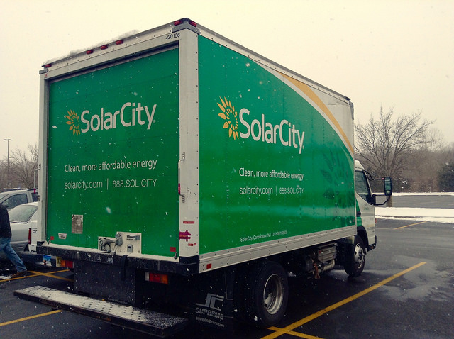 Solar City Truck