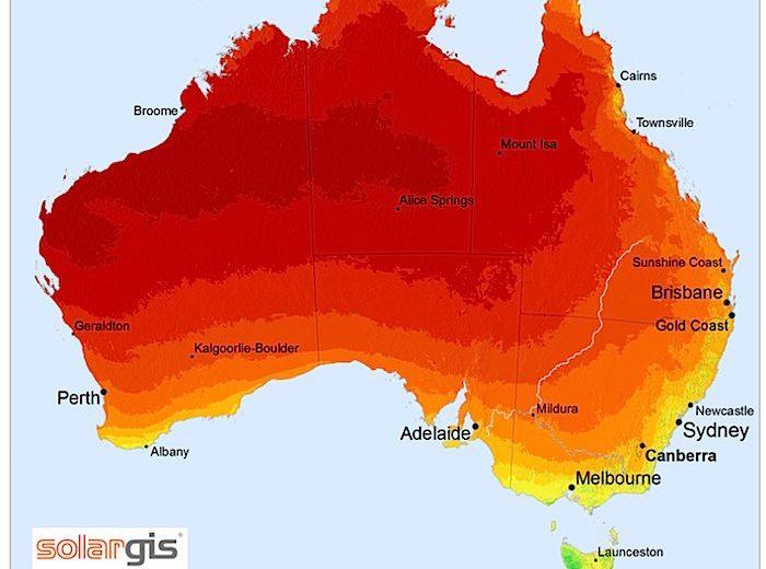 Australia-solar-potential