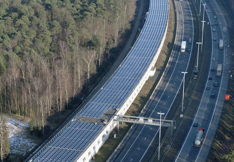 Solar canopy Belgium