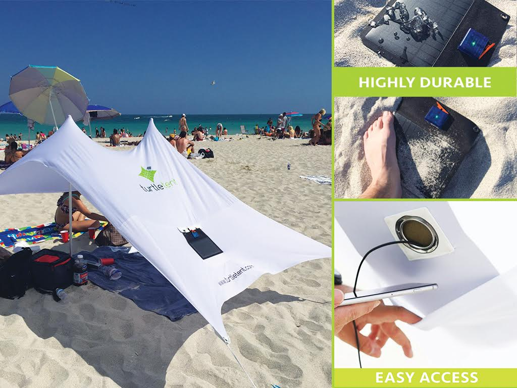 Turtle Tent solar shade