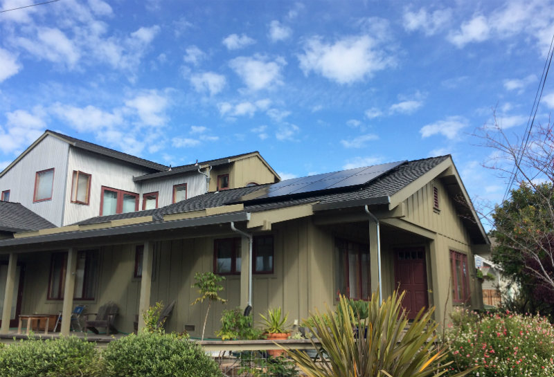 solar roof in california