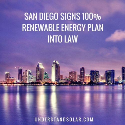 San Diego Signs 100 Renewable Energy Plan into Law
