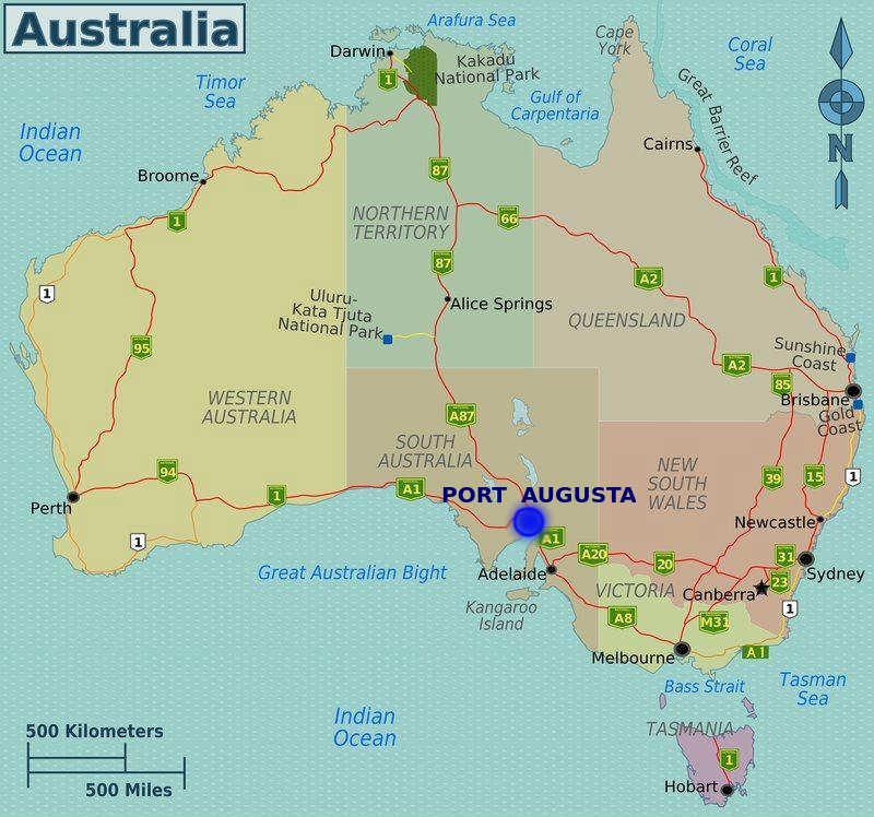 Port Augusta Solar CSP Site