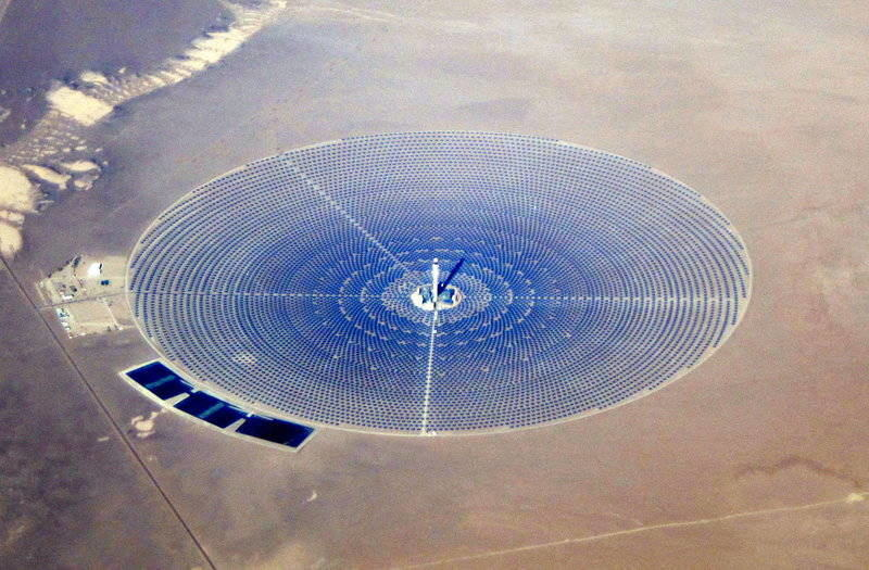 Crescent Dunes CSP Concentrated Solar