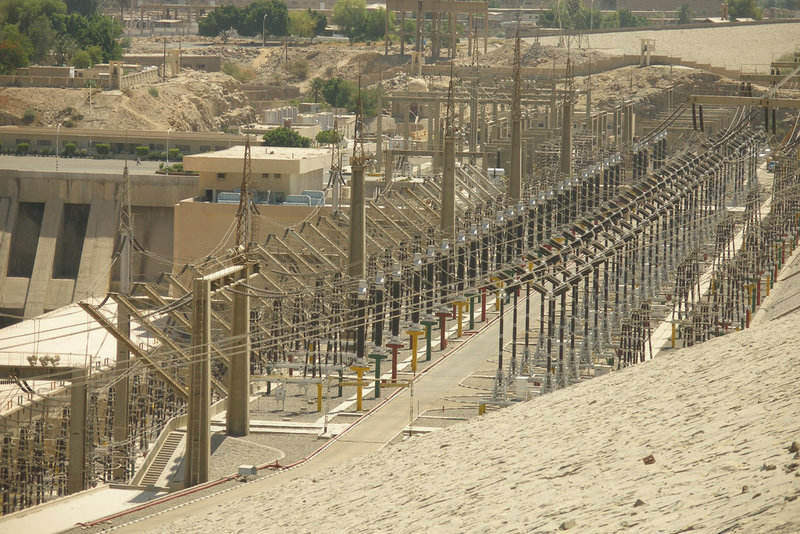 Aswan Dam Hydropower Station