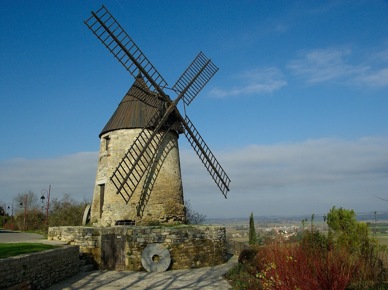 windmills were old technology