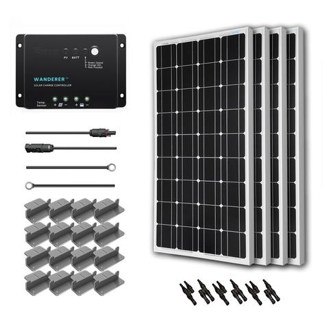 Renogy 400 Watt Solar Panel Kits