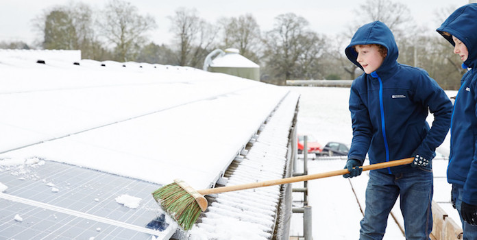 How To Solar Panel Snow Removal Understand Solar