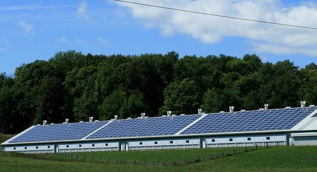 solar power barn
