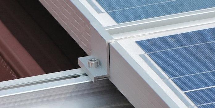 solar panel aluminum