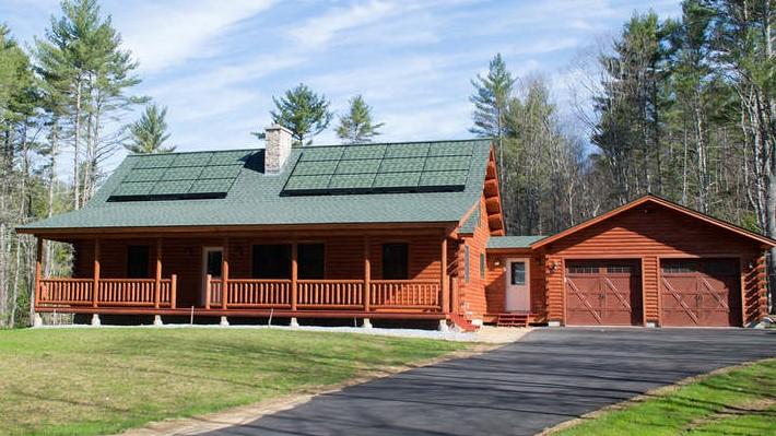 Solarskin discreet solar panels