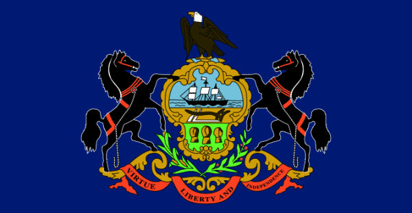 Pennsylvania flag