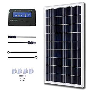 KOMAES 100 Watt solar panel kit