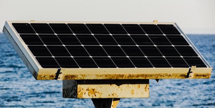 single-solar-panel