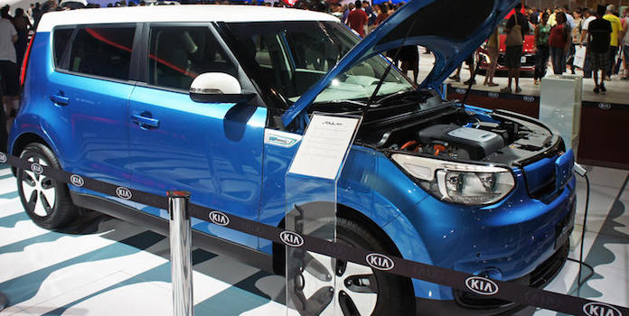kia soul electric