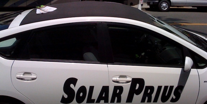 old-solar-prius-model