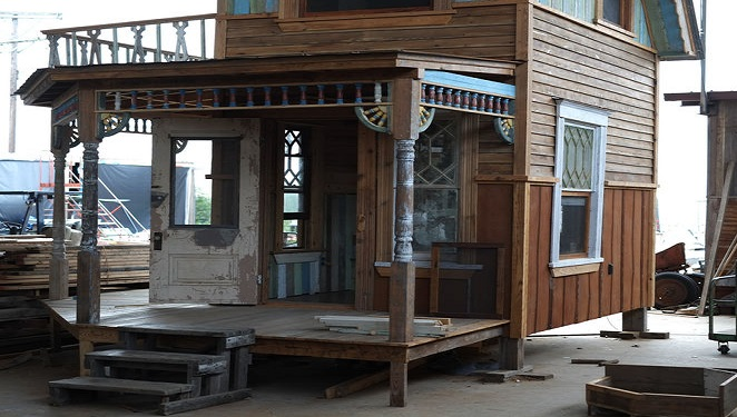 tiny house kits prefab points