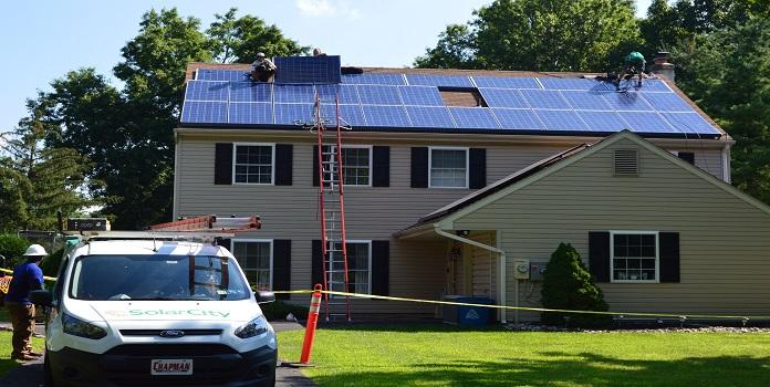 solar lease install