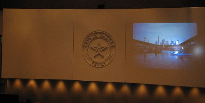 solar panels dallas city seal