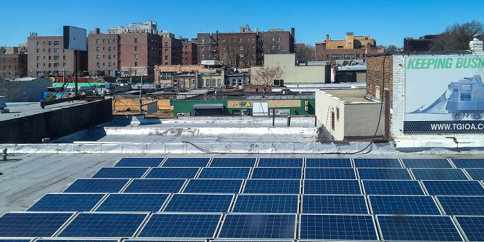 New York solar installers rooftop