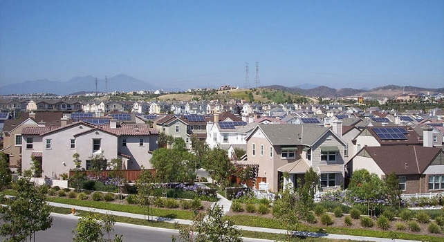 California subdivision