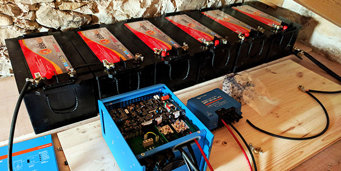 agm solar battery