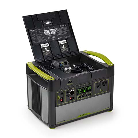 GoalZero Yeti 1400 Lithium Solar Generator