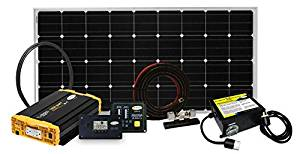Go Power Solar Panel Kit