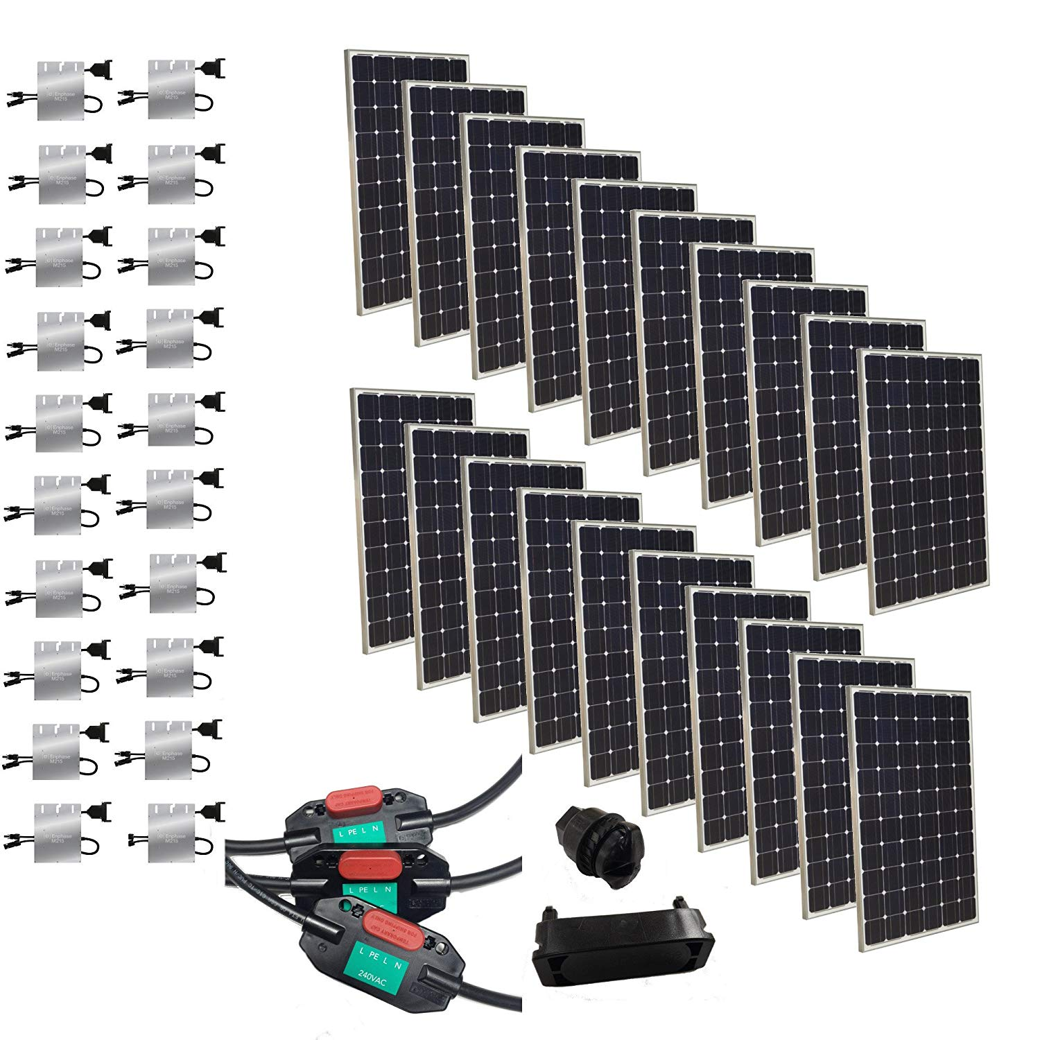 Grape Solar 5300 Watt with Enphase Microinverters
